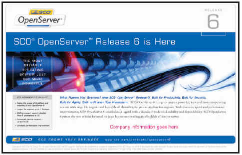 Xinuos Inc  | Products | Openserver6 | SCO OpenServer 6